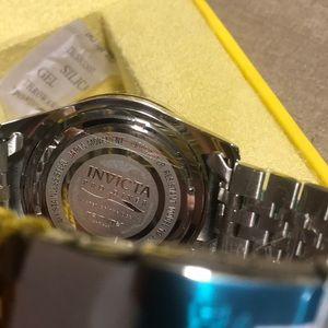 Invicta Accessories - Invicta Pro Diver Stainless Steel Blue Dial Watch